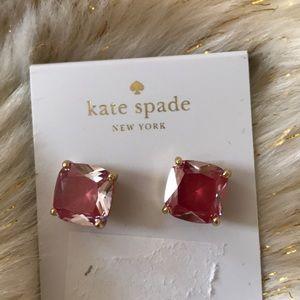 Kate spade pink rhinestone earring studs